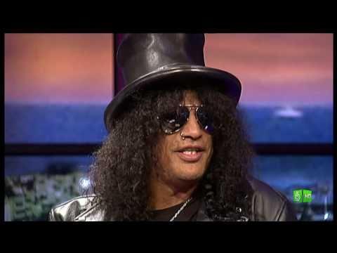 Buenafuente entrevista a Slash
