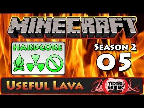 Hardcore Minecraft | Season 2 | Lava Waste Disposal #5