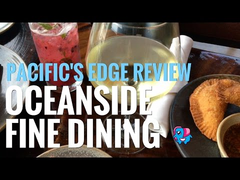 Oceanside Fine Dining: Carmel Highlands Pacific's Edge Restaurant Review
