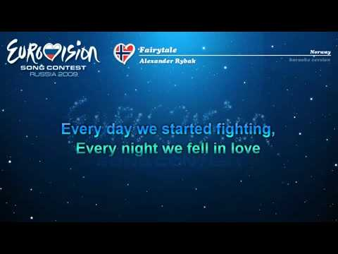 KaraokeNorwayAlexander Rybakquot Fairytale quot
