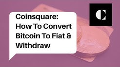 Coinsquare Tutorial | Best Canadian Crypto Exchange 2020 | Convert BTC to CAD Fiat