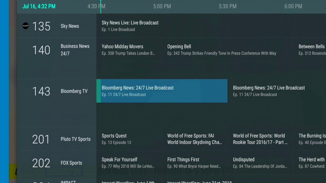 Stream+ OTA DVR & Streaming Box - Browsing Free Channels in the Guide