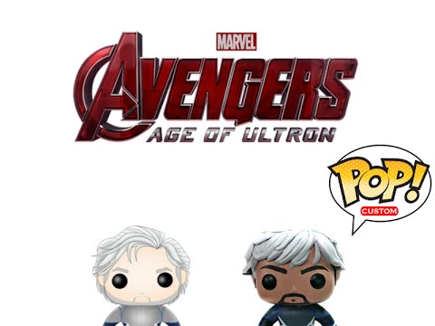 Custom quicksilver pops avengers 2 age of ultron youtube