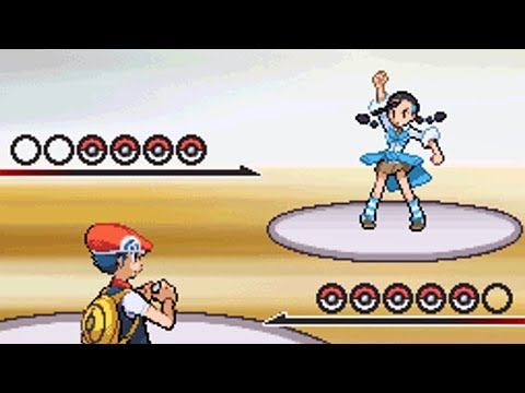 7th Gym Battle Vs Candice [Pokemon Diamond]