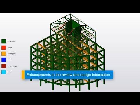 Design Status Enhancements in Tekla Structural Designer