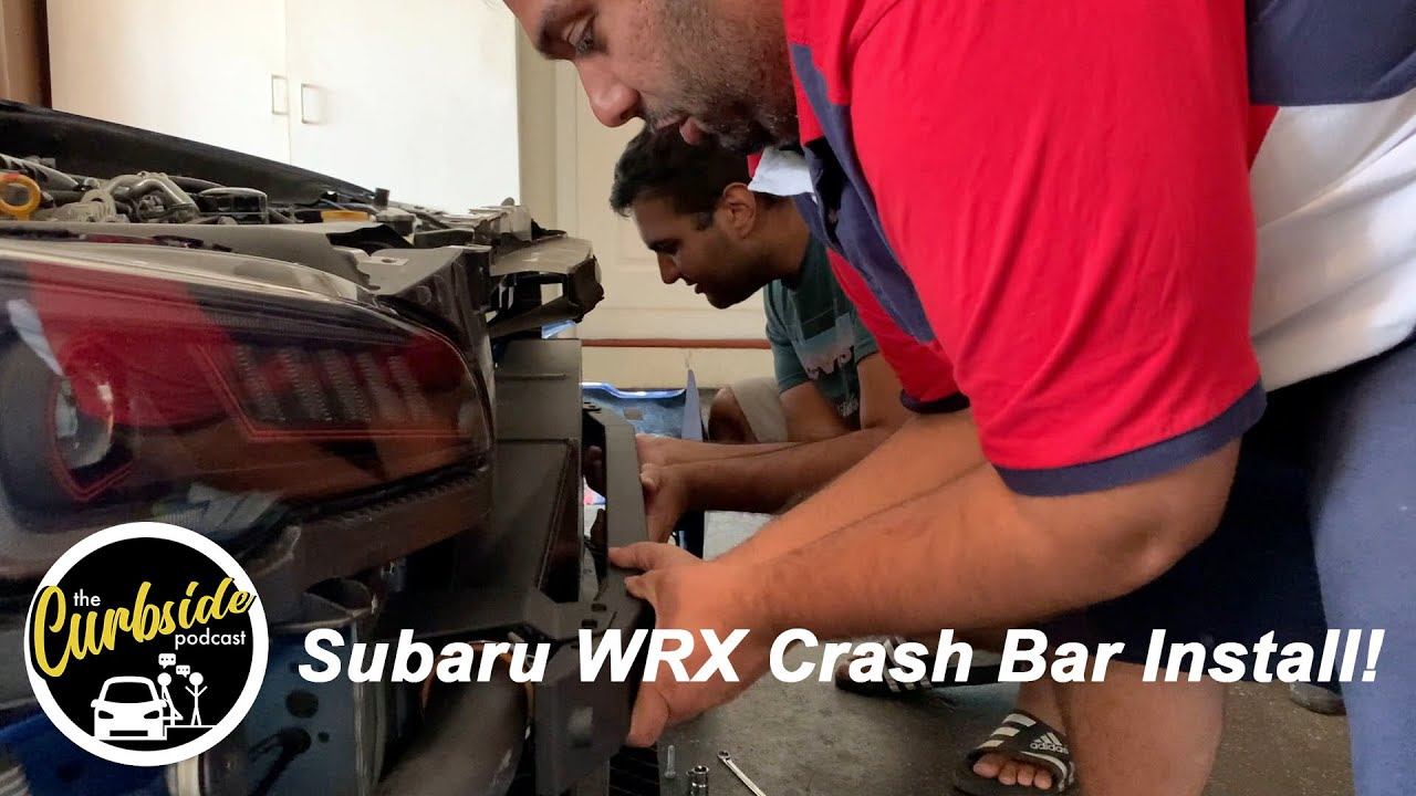 Subaru WRX Crash Bar Install!