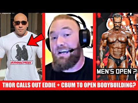 Thor's Message to Eddie Hall + Dennis James/ Big Ramy Troll Haters + Bumstead to Open Bodybuilding??