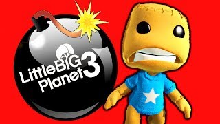 Kick The Buddy The Best Ways To Die In LBP - LittleBigPlanet 3 PS4 Gameplay