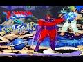 X-Men Vs. Street Fighter playthrough (SEGA Saturn)