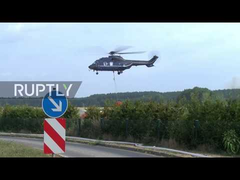 Germany: Three villages evacuated as wildfires hit close to Berlin