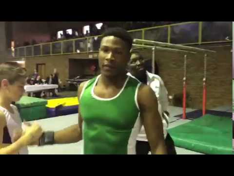 Uche Eke Wins Gold Medal for Nigeria in Gymnastic at South Africa, Part 1