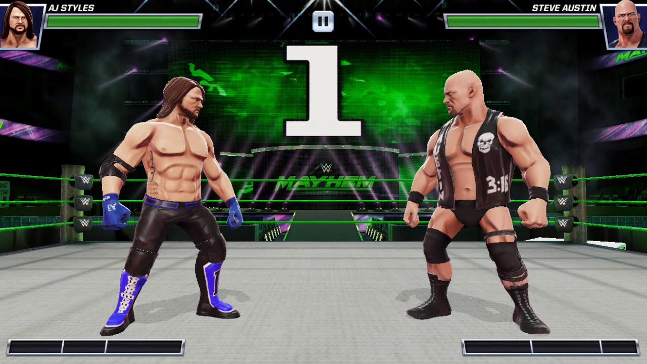 Resultado de imagen para WWE MAYHEM tutorial