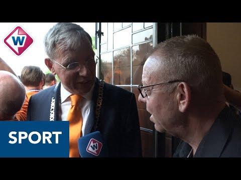 Burgemeester Katwijk maakt eerste kampioenschap mee: 'Wat een feest!'