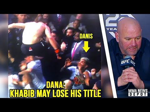 UFC Pros react to post-fíght bráwl at UFC 229; Dana White reacts to Khabib and Conor UFC 229