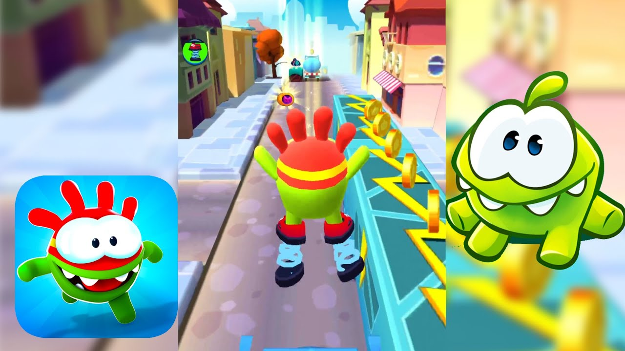 OM NOM RUN All Levels Road iOs Android Gameplay Part 3