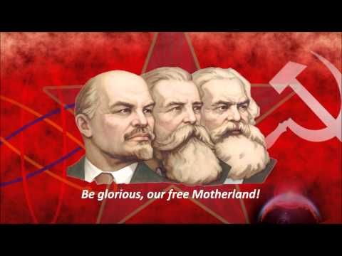 Hymn of the USSR  Red Army Choir English Sub