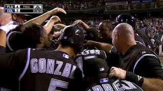 Giambi pounds a walk-off homer to win it