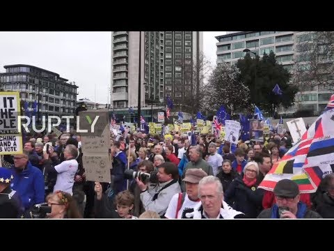 LIVE: The People's Vote March