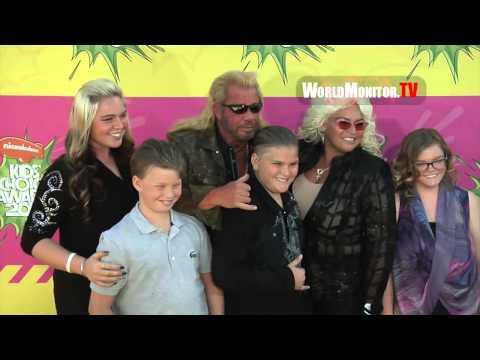 Dog the Bounty Hunter, Al Roker and Family arrive at Kids' Choice Awards 2013