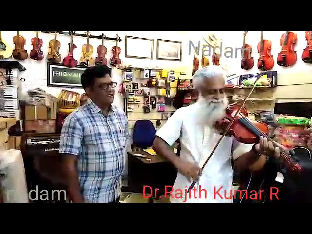 Dr Rejith Kumar in nadam .Importantnce of violin study