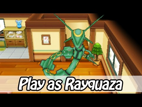 Play as Rayquaza - Pokemon Omega Ruby