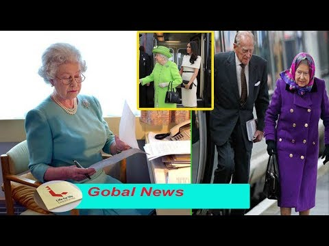 'Claims rail boss' The Queen is not happy with Meghan Markle's change to the train