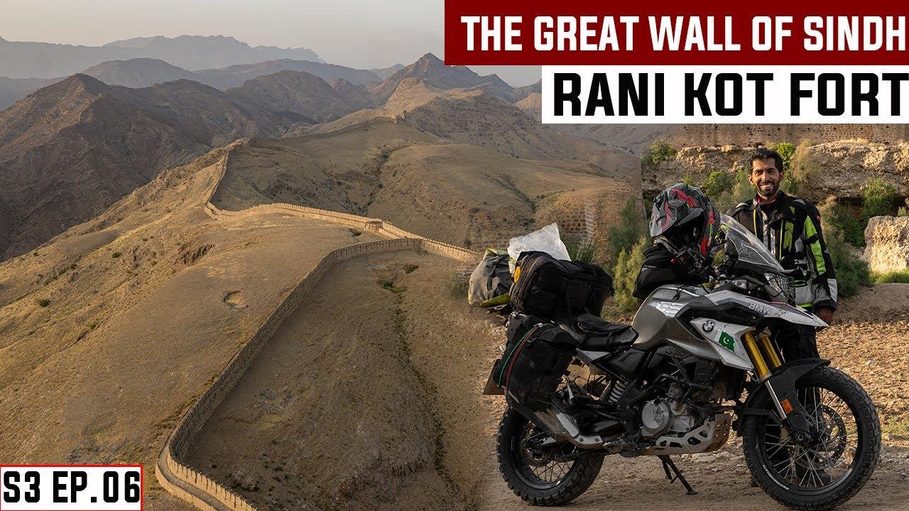 MY WORST CRASH EVER IN RANIKOT FORT S03 EP. 06 | Sehwan Sharif | Pakistan Motorcycle Tour