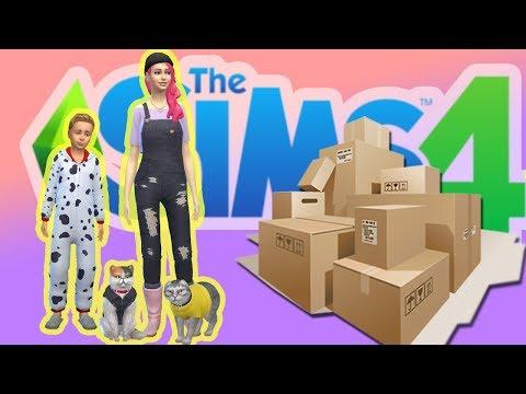 Vi flyttar!🚛 The sims 4 svenska