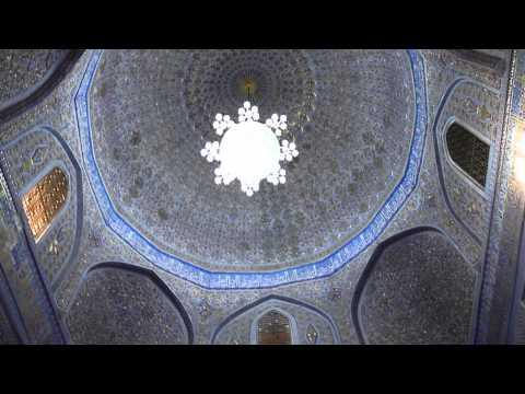 Mausoleum of Tamerlane, Samarkand, Uzbekistan