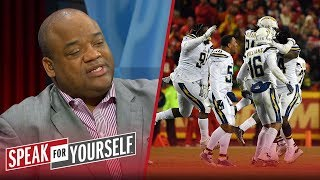 Whitlock and Wiley react to the Chargers' late comeback win vs the Chiefs | NFL | SPEAK FOR YOURSELF