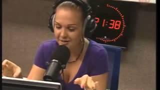 Марина Девятова на радио
