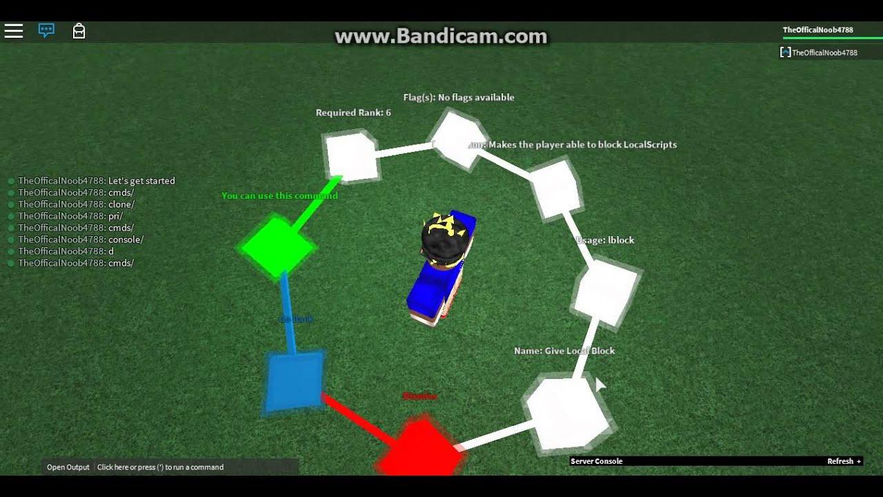 Roblox Script Builder (Admin Script)