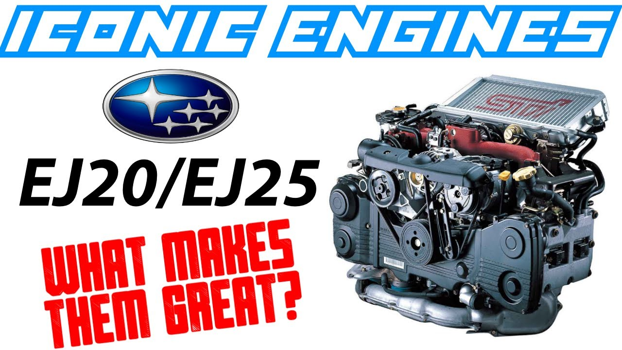 SUBARU EJ20 / EJ25 - What makes them GREAT? ICONIC ENGINES #13