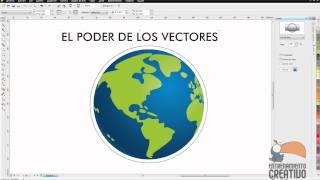 Tutorial Corel Draw Lente y Adaptar texto a trayecto - Entrenamiento Creativo