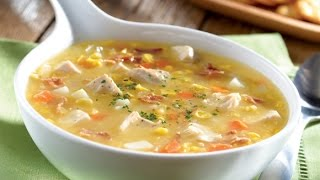 Chiken Vegetable Chinese Corn Soup by king chef shahid jutt thumbnail