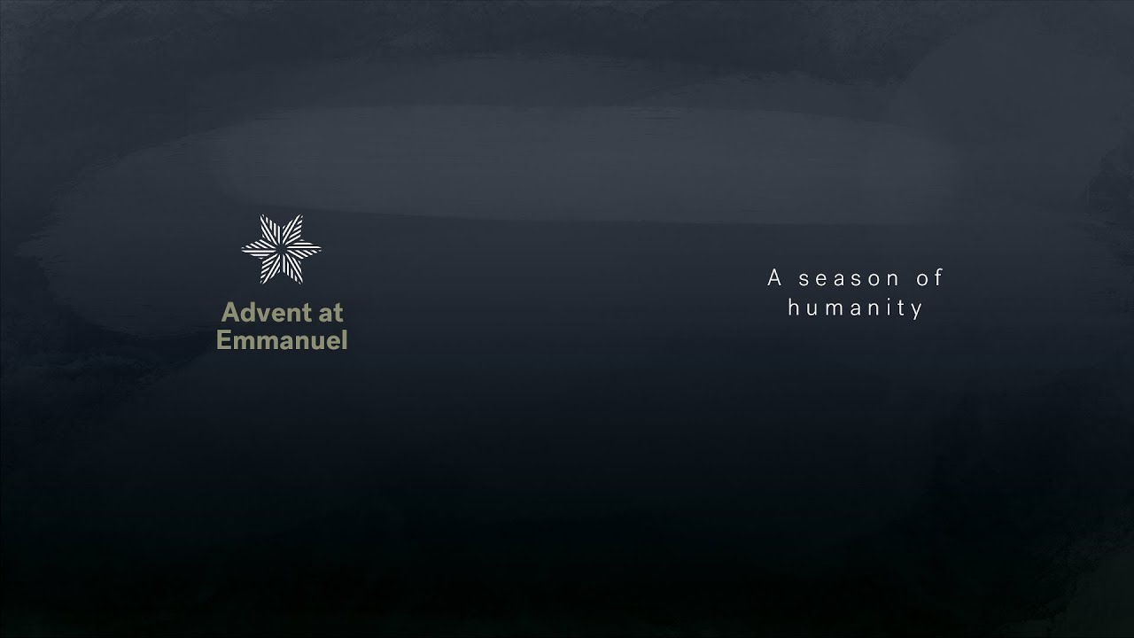 Advent: A season of humanity Cover Image