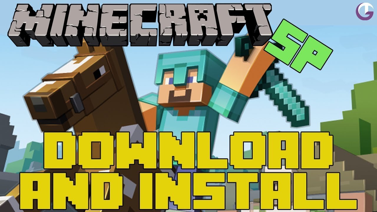 How to download minecraft sp youtube.