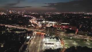 Mavic 2 Pro Night footage in 4K