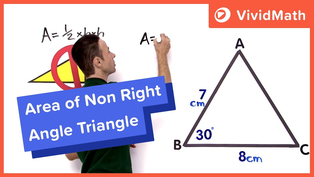 Area of a non right angle triangle youtube ccuart Image collections