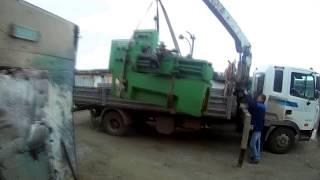 видео перевозка станков