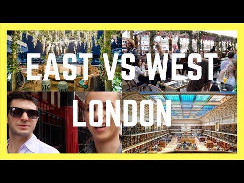 EAST VS WEST LONDON    London Couple Travel Vlog 023