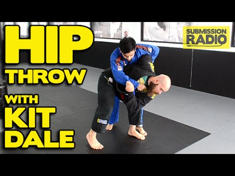 How To Do A Hip Throw From Standing W/ Kit Dale   Judo BJJ Sambo & MMA