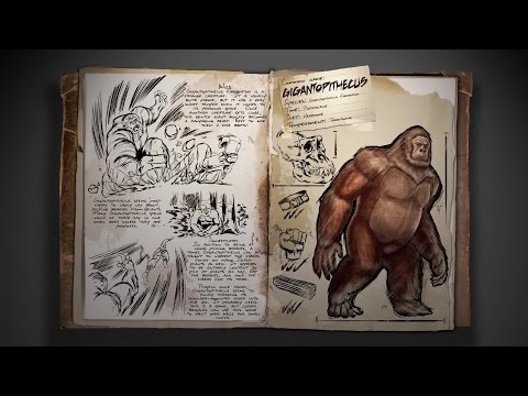 ARK: Survival Evolved - Spotlight Gigantopithecus Trailer (2015) | Official Dinosaur Game HD