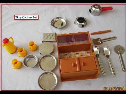 Unboxing Of Tiny Kitchen Set From Amazon With Price Youtube