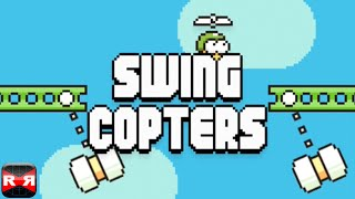 Swing Copters (By Dong Nguyen, maker of the original Flappy Bird) - iOS - HD Gameplay Trailer