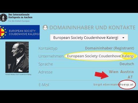 Auch das noch: ÖVP kooperiert mit Kalergi-Club!! Kalergis Rassen-Visionen für Volk und Politik