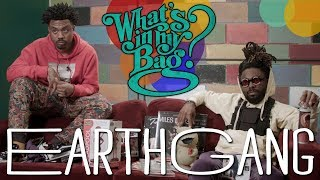 EARTHGANG - What's In My Bag?
