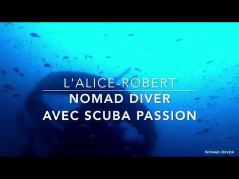 plongée sur l'épave de l'Alice Robert by Nomad Diver avec Scuba Passion 21 juillet 2019
