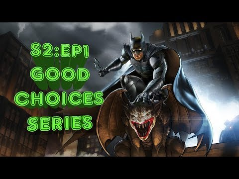Telltale Batman: The Enemy Within - Episode 1 (Good/Honorable Choice Series Part 1)  😇