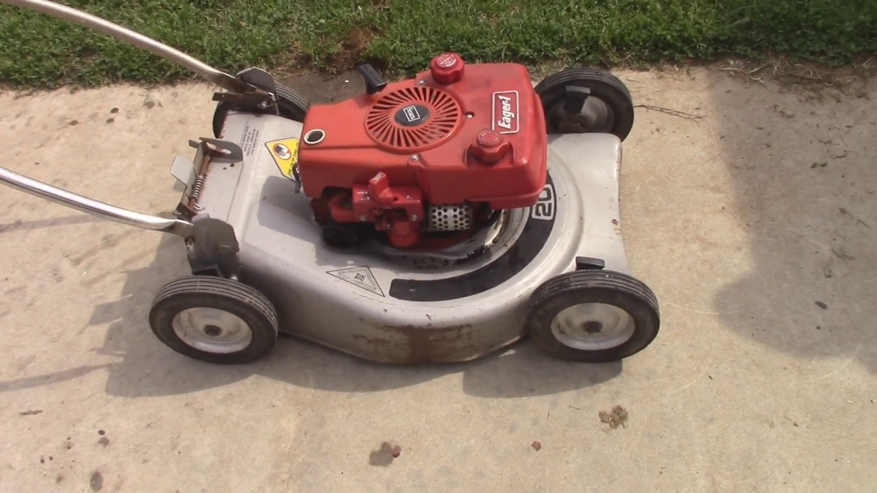 Old Craftsman Lawn Mowers : Saving another vintage craftsman mower youtube